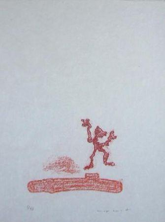 Lithograph Ernst - Lewis Carroll's Wunderhorn 36