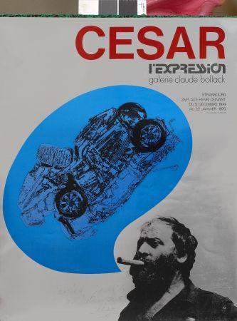 Screenprint Cesar - L'Expression