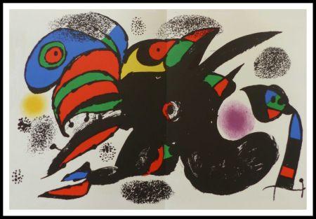 Lithograph Miró - L'extrême origine