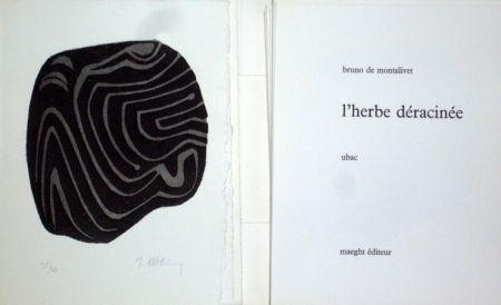 Illustrated Book Ubac - L'herbe déracinée