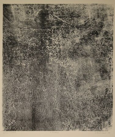 Lithograph Dubuffet - L'humus - Le Preneur d'empreintes