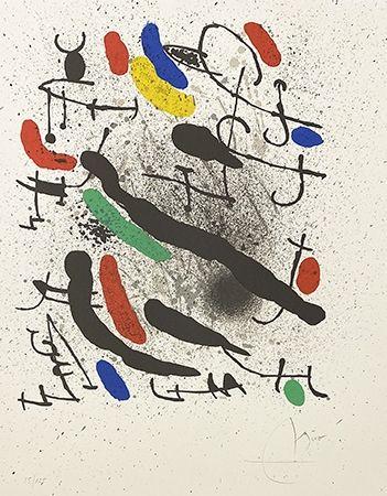 Lithograph Miró - Liberté des libertés