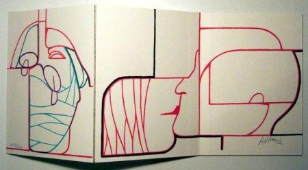 Illustrated Book Adami - Liberté des libertés. Dessins de Mirò