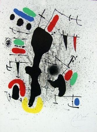 Lithograph Miró - Liberté des libertés II