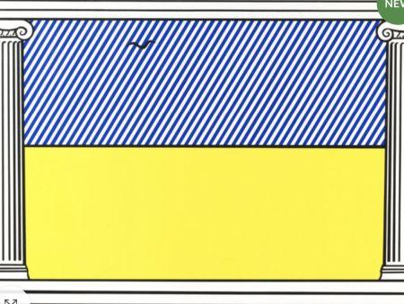 Screenprint Lichtenstein - Liberté, from mémoire de la liberté