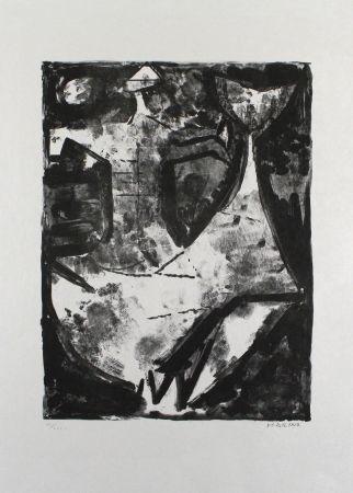 Lithograph Marini - L'idea Del Cavaliere