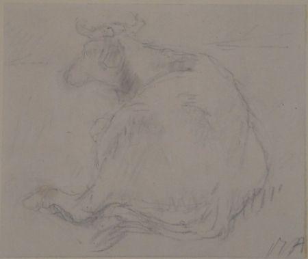 No Technical Auberjonois - Liegende Kuh / Reclining cow
