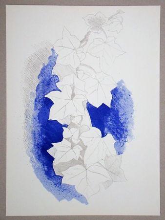 Lithograph Braque - Lierre