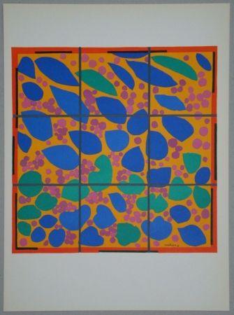 Lithograph Matisse - Lierre en Fleur