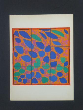 Lithograph Matisse - Lierre en fleurs, 1953