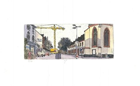 Etching And Aquatint Panzner - Limburg