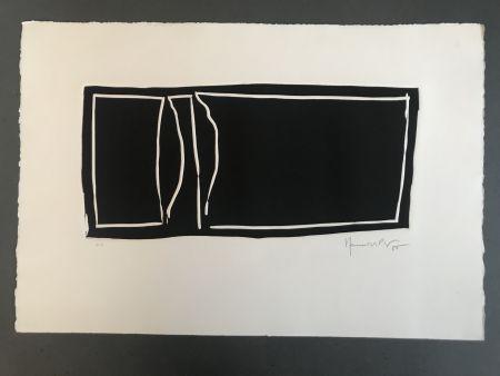Linocut Hernandez Pijuan - Linòleum I