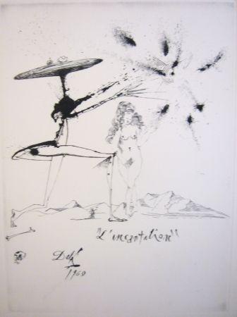 Engraving Dali - L'incantation