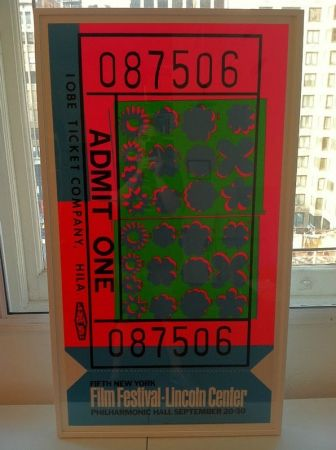 Screenprint Warhol - Lincoln center