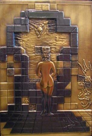 Relief Dali - Lincoln In Dali Vision