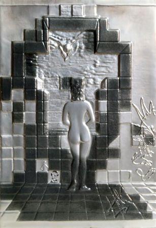 Lithograph Dali - Lincoln in Dalivision