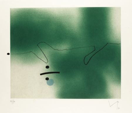 Aquatint Pasmore - Linear Movement