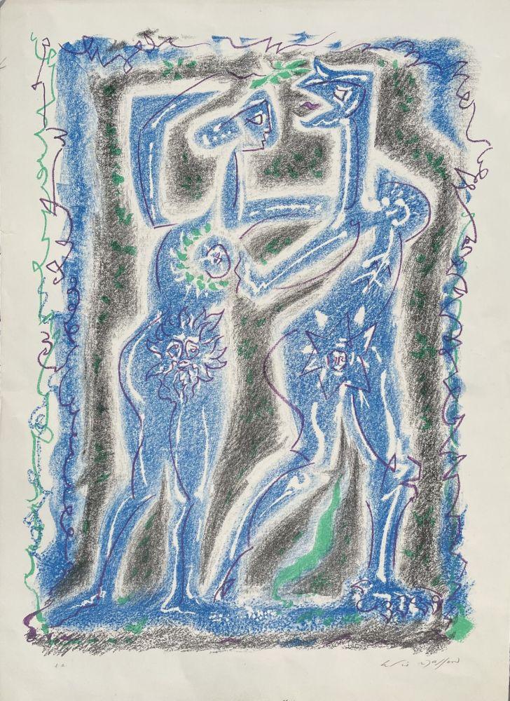 Lithograph Masson - L'INTRIGUE