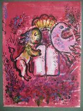 Lithograph Chagall - Lion de Juda