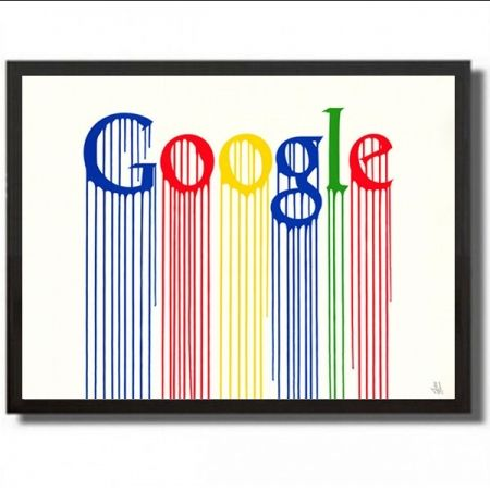 Screenprint Zevs - Liquited google