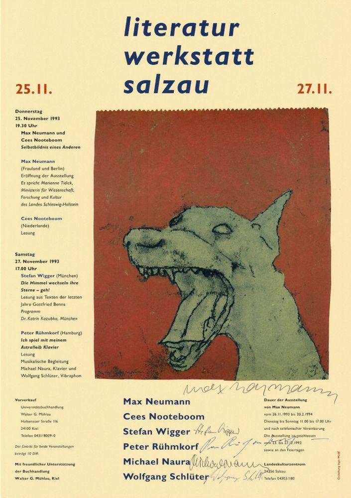Poster Neumann - Literatur Werkstatt Salzau