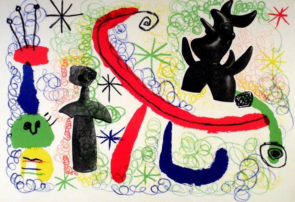 Lithograph Miró - Litho 1950
