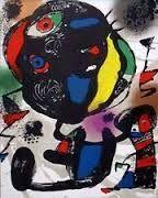 Lithograph Miró - Litho 4  (1260)