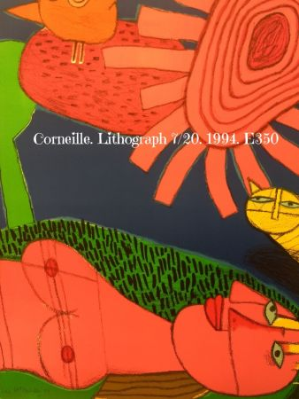 Lithograph Corneille - Lithograph 7/200