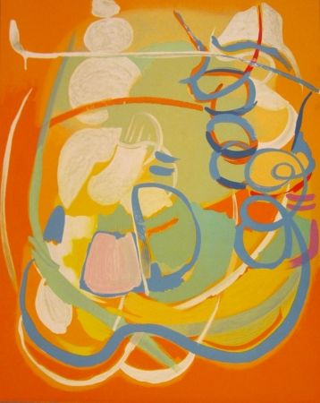Lithograph Lanskoy - Lithograph from the Génèse Portfolio