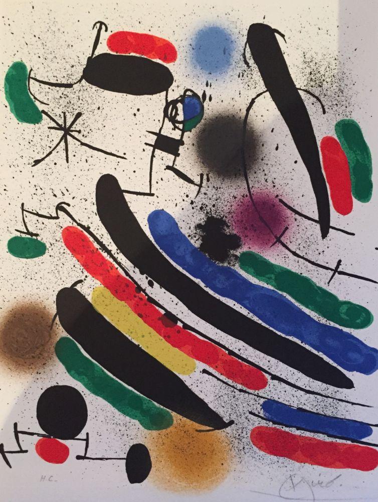 Lithograph Miró - Lithograph I