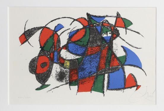 Lithograph Miró - Lithograph III