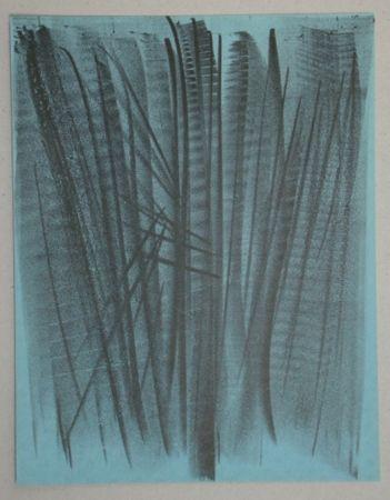 Lithograph Hartung - Lithograph pour XXe Siècle, 1964