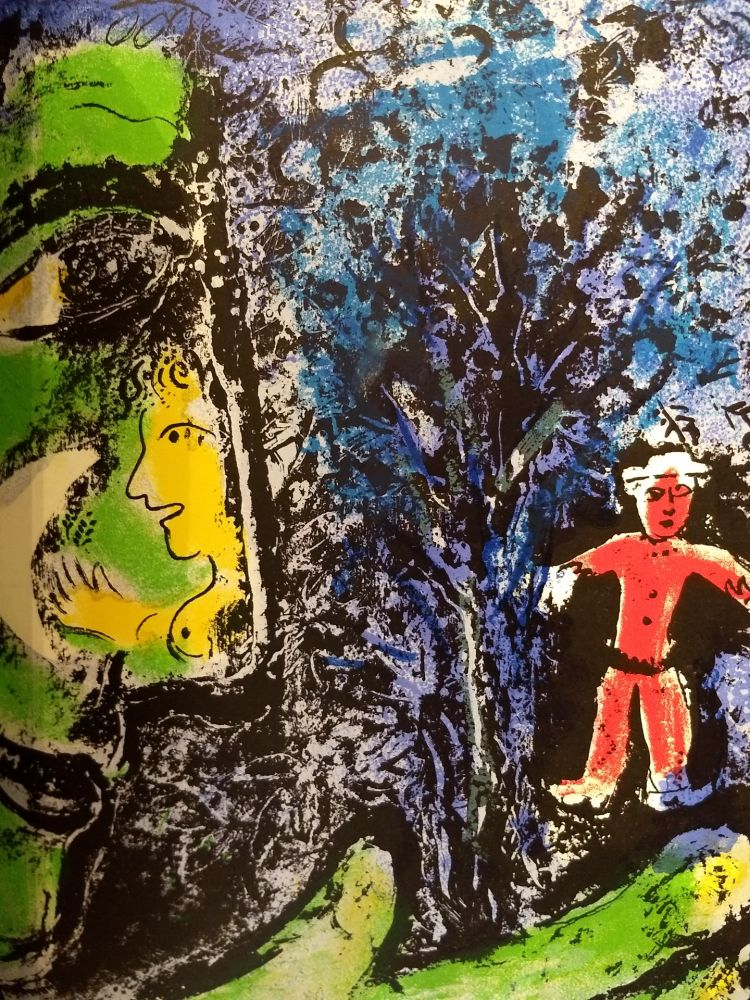Illustrated Book Chagall - Lithographe