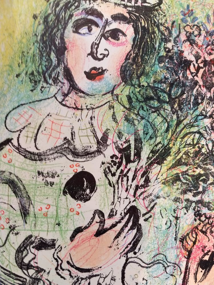 Illustrated Book Chagall - Lithographe 2
