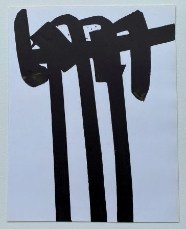 Lithograph Soulages - Lithographie 28