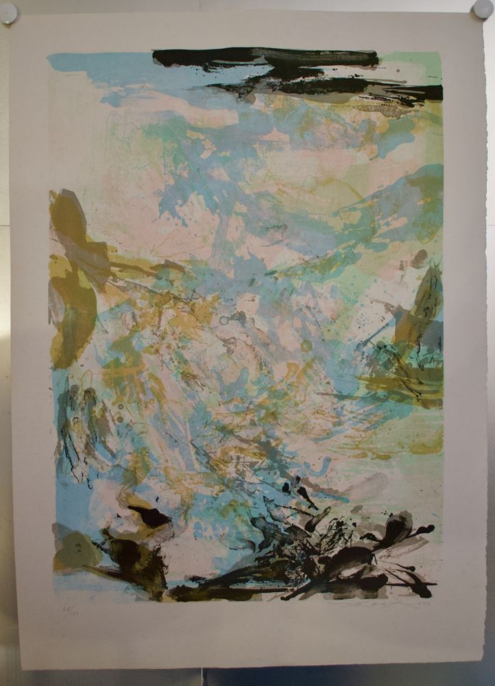 Lithograph Zao - Lithographie AGERUP 269