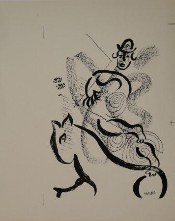 Lithograph Chagall - Lithographie für