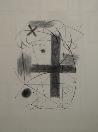Lithograph Miró - Lithographie II