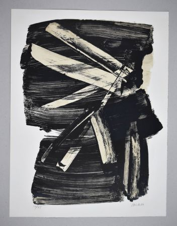 Lithograph Soulages - Lithographie n°10