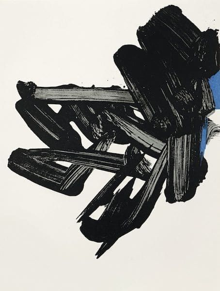 Lithograph Soulages - Lithographie n°17