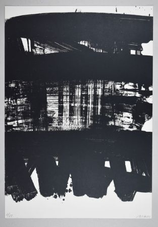 Lithograph Soulages - Lithographie n°21
