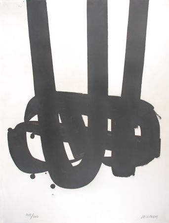 Lithograph Soulages - Lithographie n°29