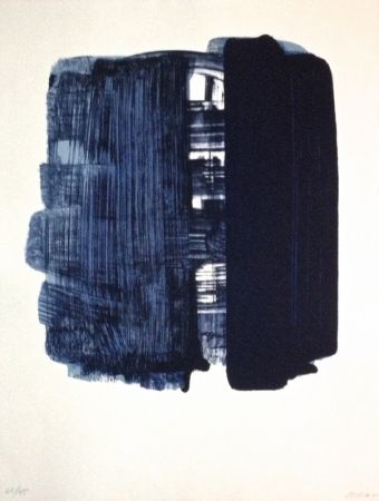 Lithograph Soulages - Lithographie n°33