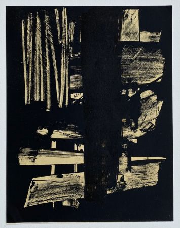 Lithograph Soulages - Lithographie n°9