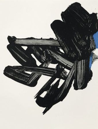 Lithograph Soulages - Lithographie n° 17