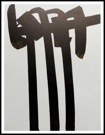 Lithograph Soulages - LITHOGRAPHIE N° 28