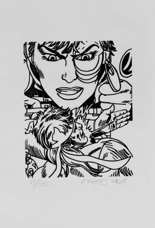 Lithograph Erro - Lithographie originale / Original lithograph