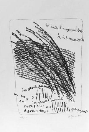 Lithograph Parant - Lithographie originale / Original lithograph