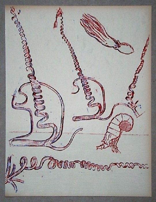 Lithograph Ernst - Lithographie originale pour XXe Siècle
