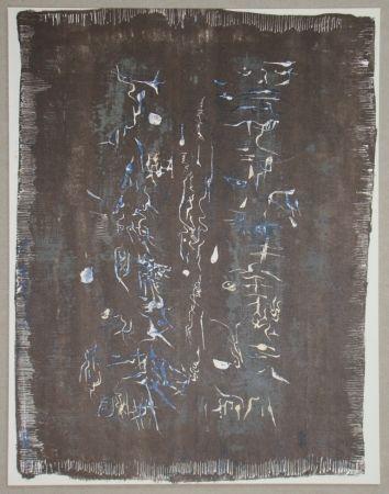 Lithograph Zao - Lithographie originale pour XXe Siècle